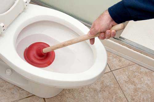 WC verstopt Leidschendam